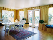 Wood Sunroom DIY